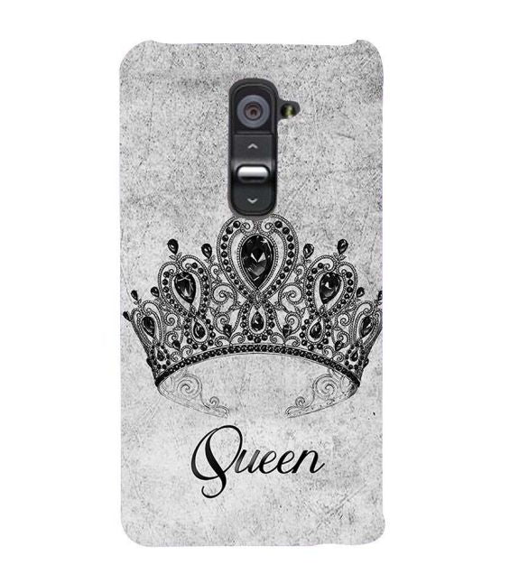 Queen Back Cover for LG G2