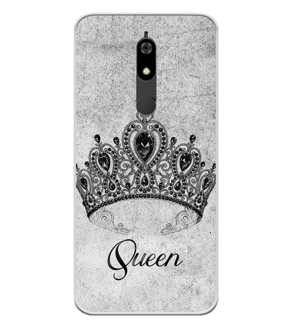 Queen Back Cover for Micromax Canvas Infinity Pro
