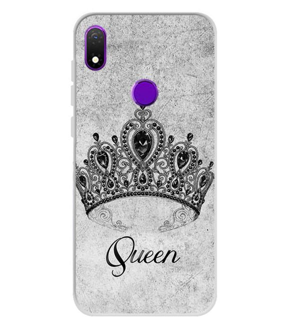 Queen Back Cover for Mobiistar X1 Notch