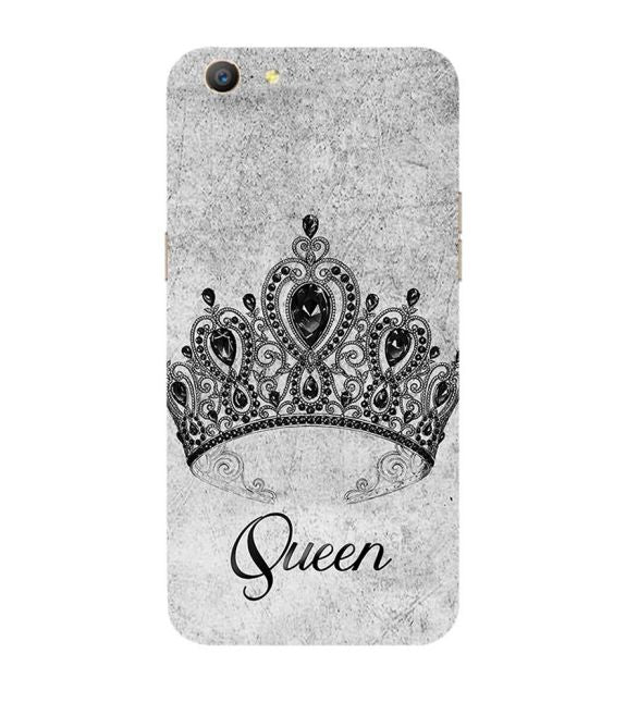 Queen Back Cover for Oppo A57 : A39