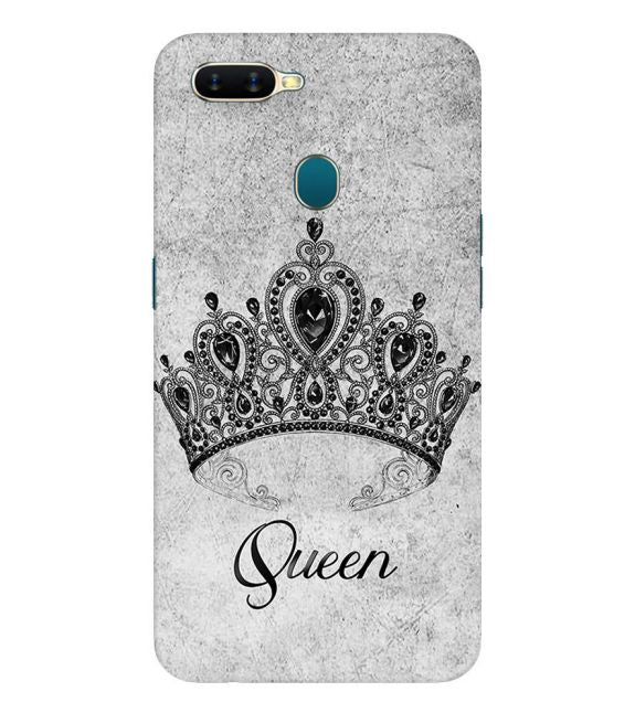 Queen Back Cover for Oppo A7