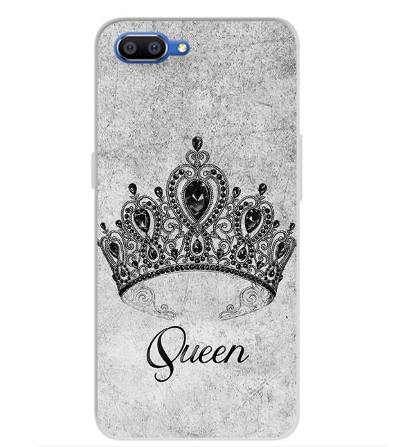 Queen Back Cover for Realme C1 (2019)