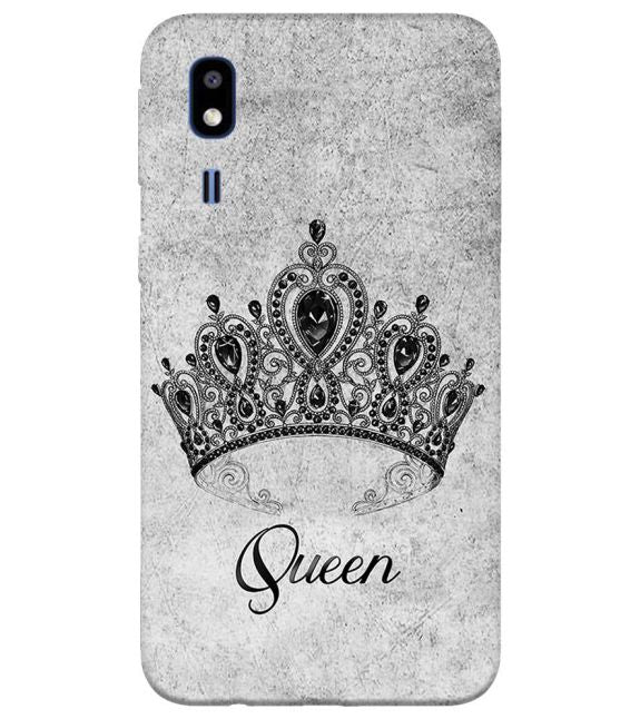 Queen Back Cover for Samsung Galaxy A2 Core