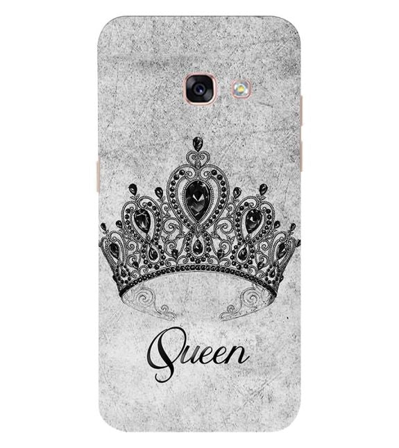 Queen Back Cover for Samsung Galaxy A3 (2017)