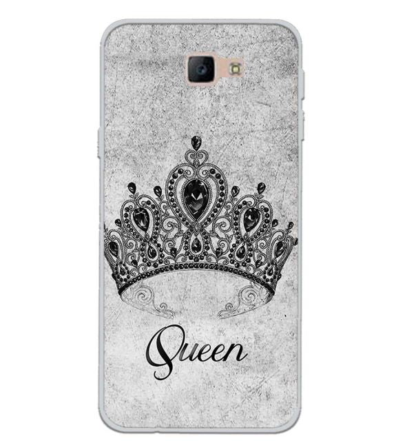 Queen Back Cover for Samsung Galaxy J7 Prime (2016)