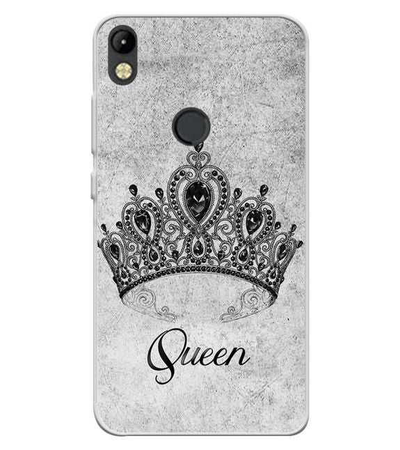 Queen Back Cover for Tecno Camon I
