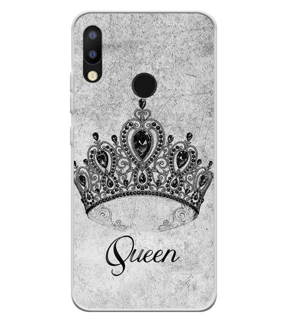 Queen Back Cover for Tecno Camon i2
