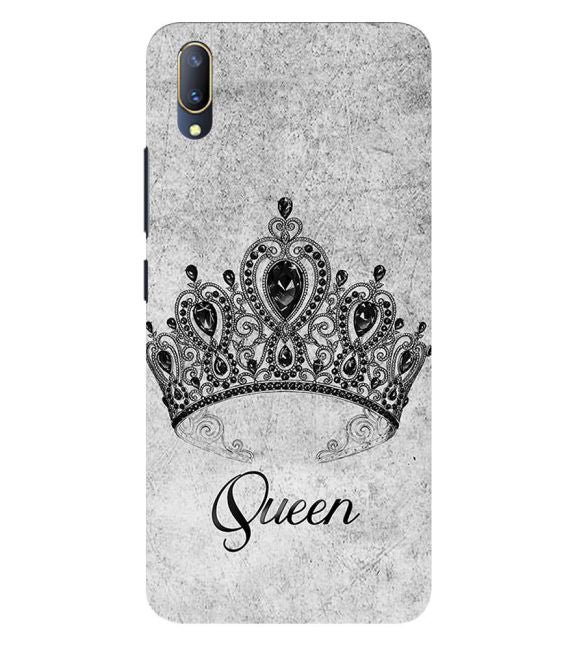Queen Back Cover for Vivo V11 Pro