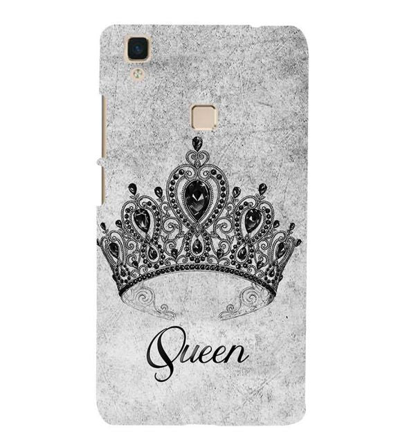Queen Back Cover for Vivo V3Max