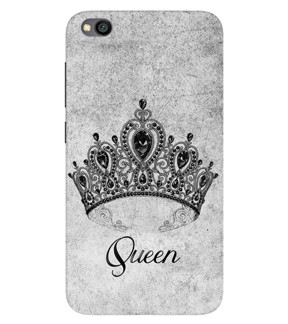 Queen Back Cover for Xiaomi Redmi Go