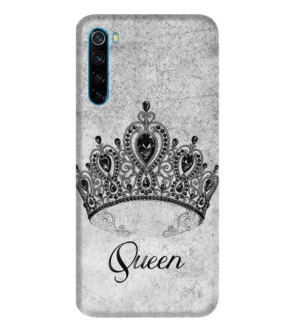 Queen Back Cover for Xiaomi Redmi Note 8