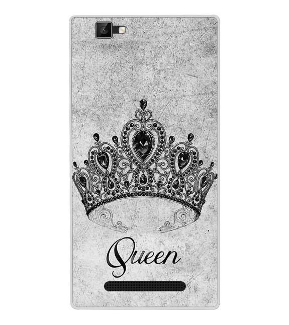 Queen Back Cover for Xolo Era 1X Pro
