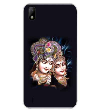 Radha And Krishna Back Cover for Lava Z41