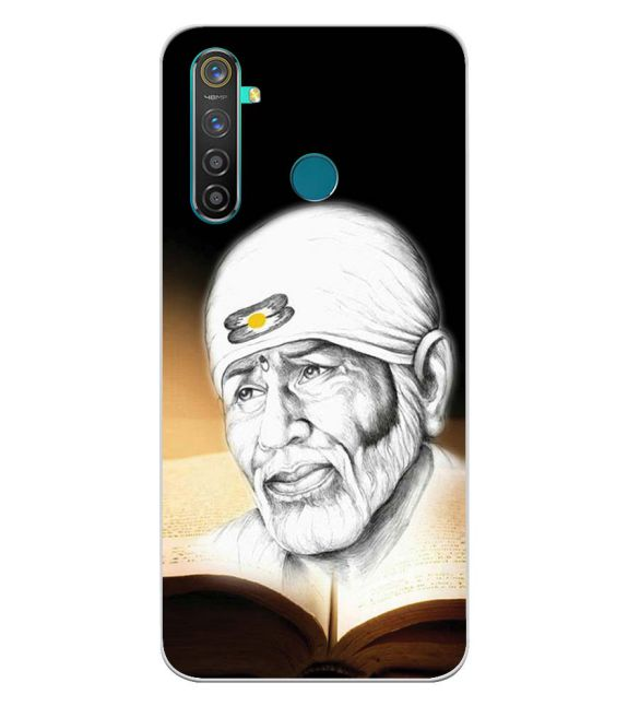 Sai Baba Back Cover for Realme 5 Pro