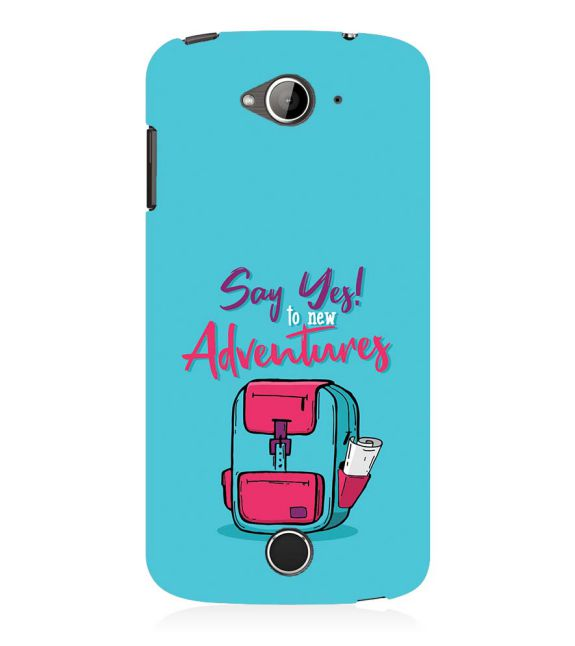 Say Yes to New Adventure Back Cover for Acer Liquid Zade 530