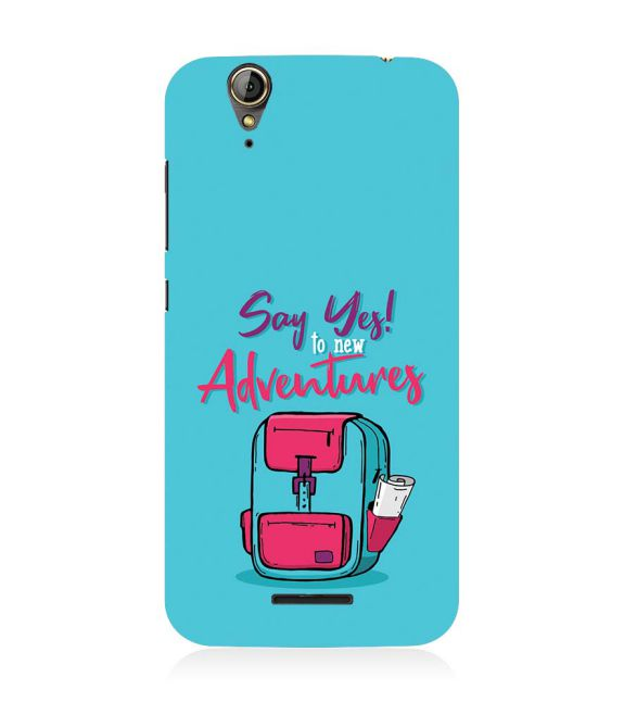 Say Yes to New Adventure Back Cover for Acer Liquid Zade 630