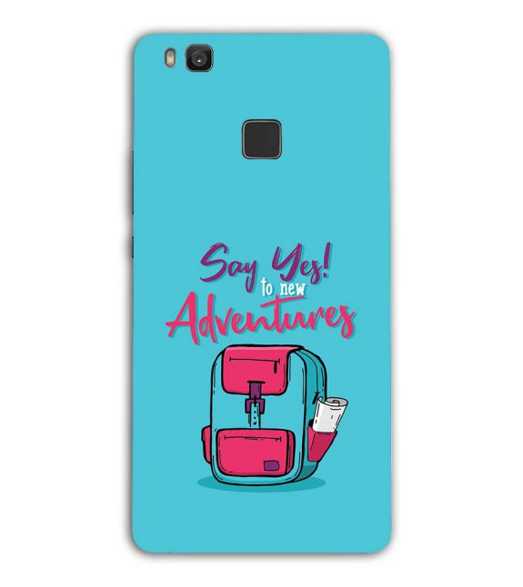 Say Yes to New Adventure Back Cover for Huawei Honor 8 Smart