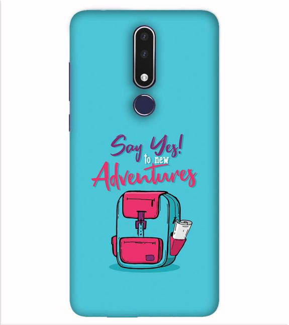 Say Yes to New Adventure Back Cover for Nokia 7.1