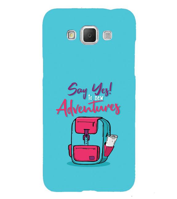 Say Yes to New Adventure Back Cover for Samsung Galaxy Grand Max G720