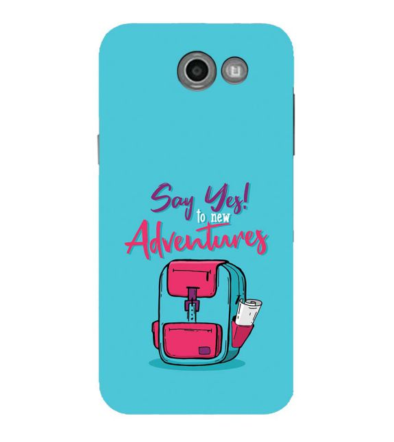Say Yes to New Adventure Back Cover for Samsung Galaxy J7 (2017)
