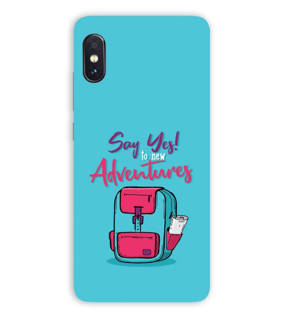 Say Yes to New Adventure Back Cover for Vivo NEX S
