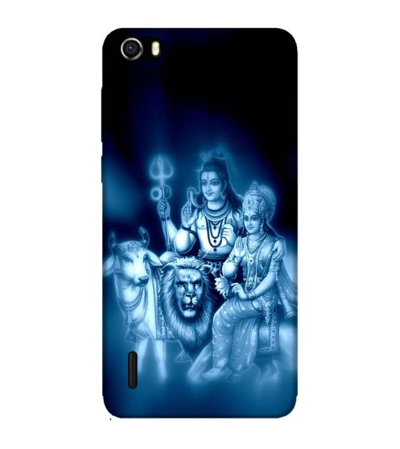Shiv Parvati Back Cover for Huawei Honor 6