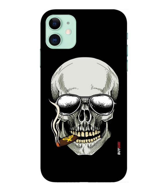 Smoking Skull Back Cover for Apple iPhone 11
