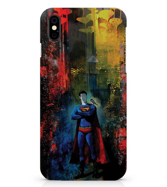 Superman Back Cover for Apple iPhone X