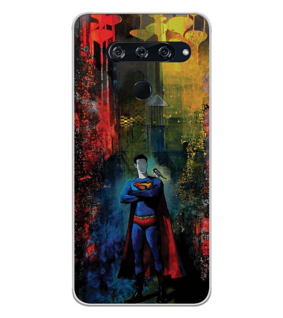 Superhero Back Cover for LG V40 ThinQ
