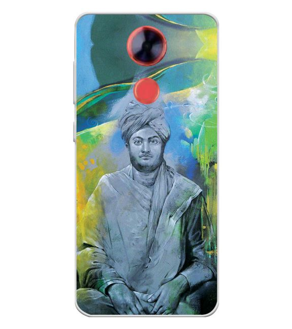 Swami Vivekananda Back Cover for Comio X1