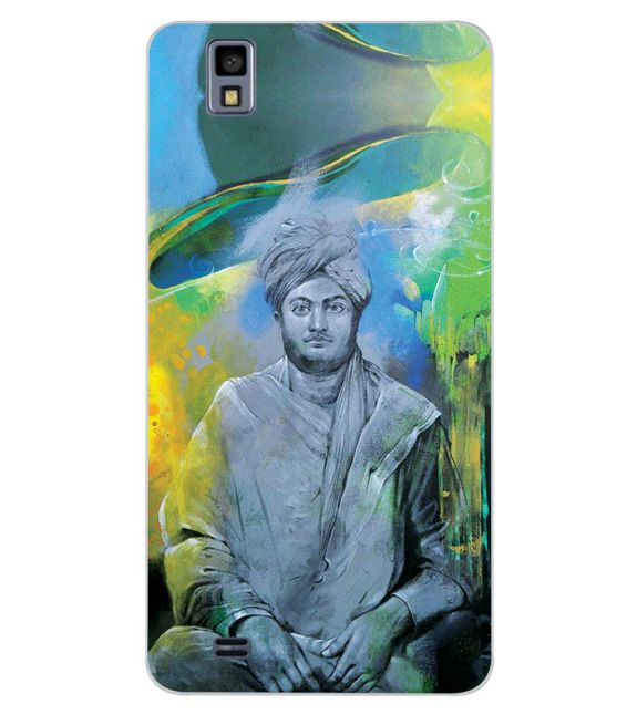Swami Vivekananda Back Cover for Gionee Pioneer P2M
