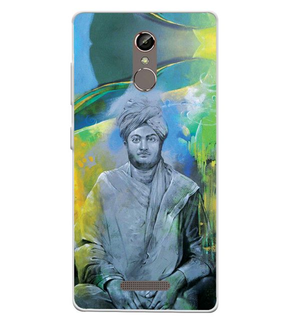 Swami Vivekananda Back Cover for Gionee S6s