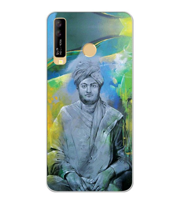 Swami Vivekananda Back Cover for iKall K10