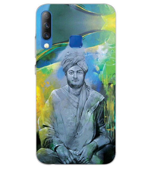 Swami Vivekananda Back Cover for Infinix S4