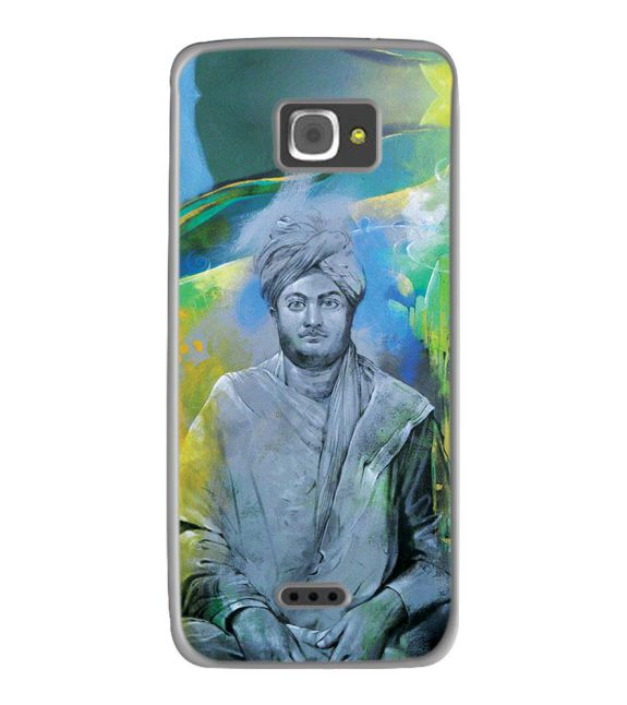 Swami Vivekananda Back Cover for InFocus M350