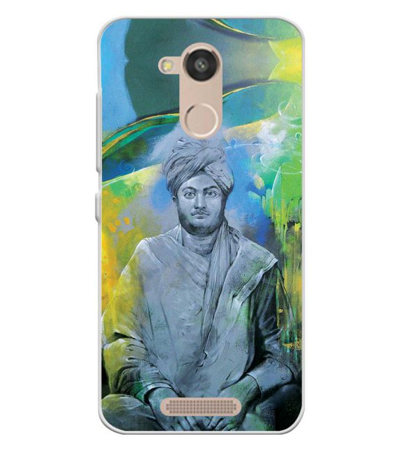 Swami Vivekananda Back Cover for InFocus Turbo 5s