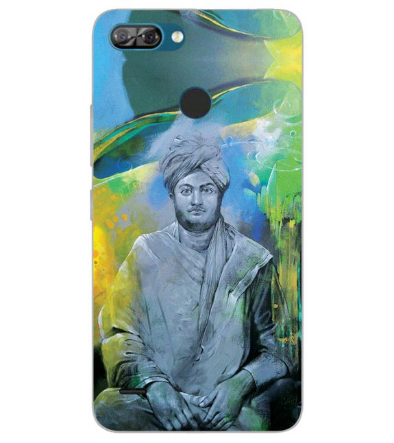 Swami Vivekananda Back Cover for Itel A46