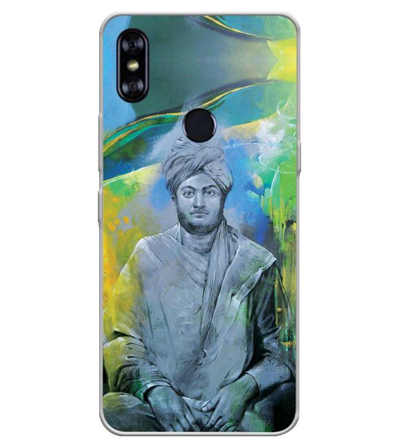 Swami Vivekananda Back Cover for Itel A62