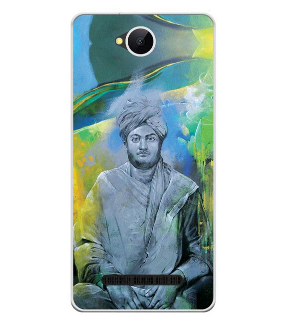Swami Vivekananda Back Cover for Karbonn A45 Indian