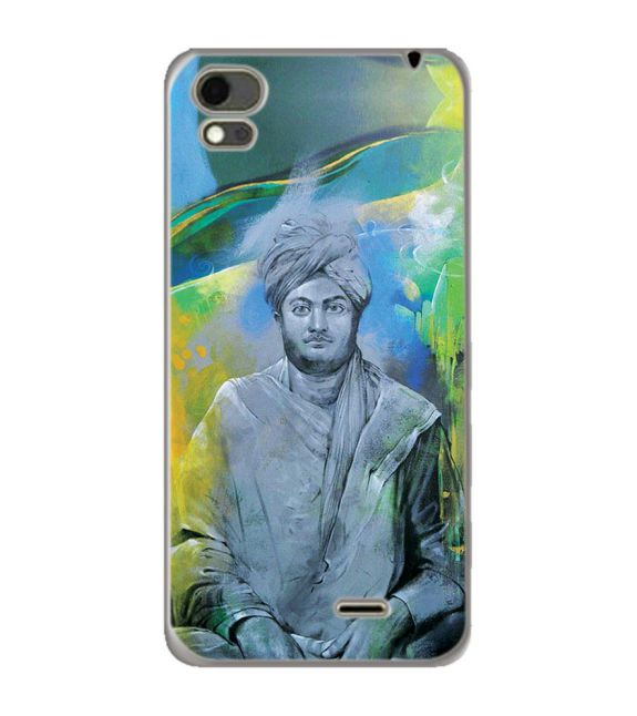 Swami Vivekananda Back Cover for Karbonn Aura Note 4G