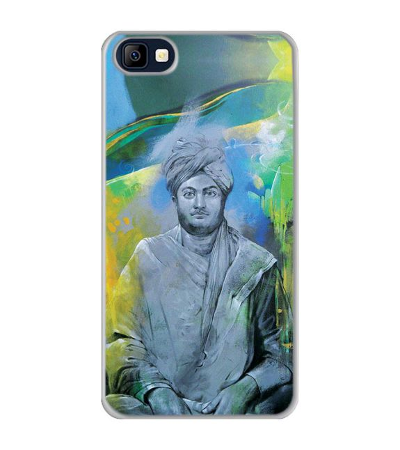 Swami Vivekananda Back Cover for Karbonn K9 Smart Selfie