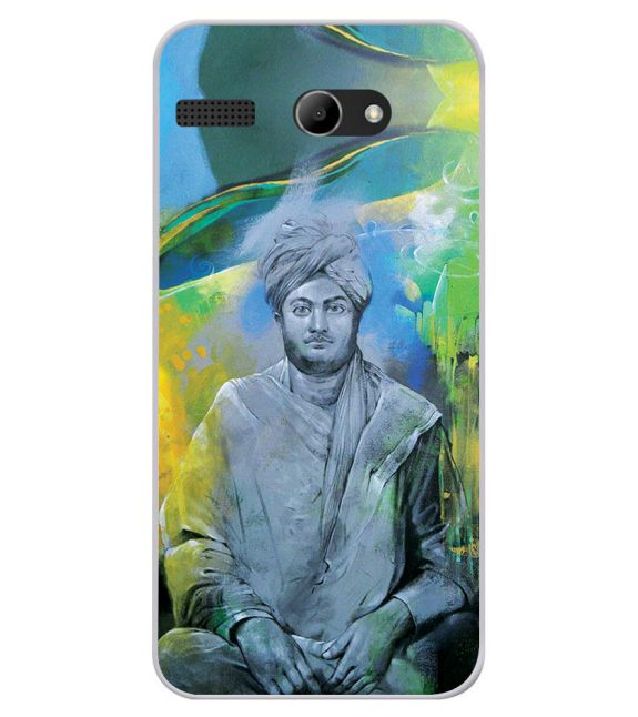 Swami Vivekananda Back Cover for Lava Iris Atom X