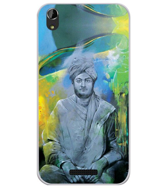 Swami Vivekananda Back Cover for Lava Iris Atom X1