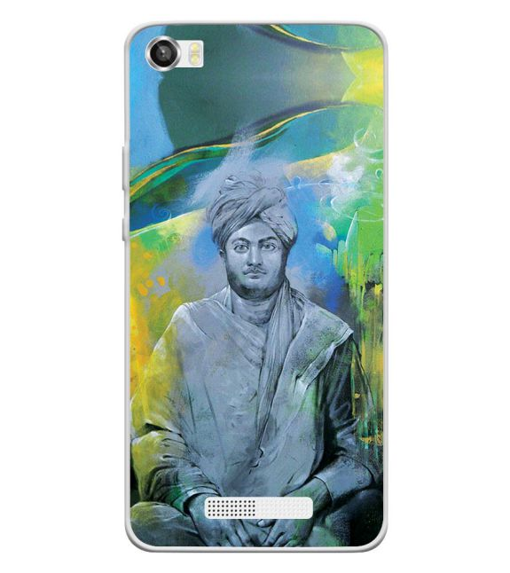 Swami Vivekananda Back Cover for Lava Iris X8