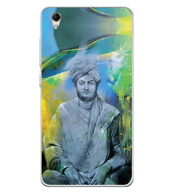 Swami Vivekananda Back Cover for Lava Z60