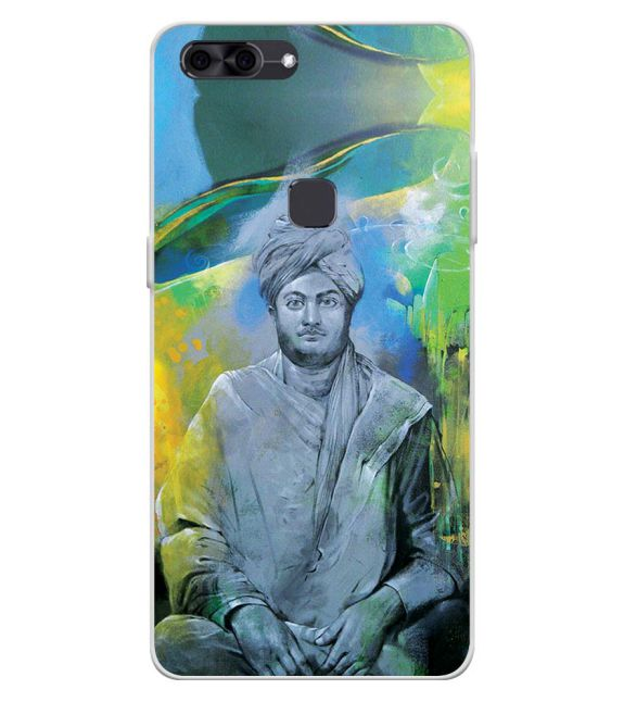 Swami Vivekananda Back Cover for Lava Z90