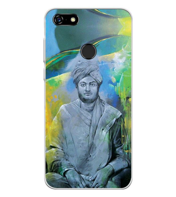 Swami Vivekananda Back Cover for Lenovo A5