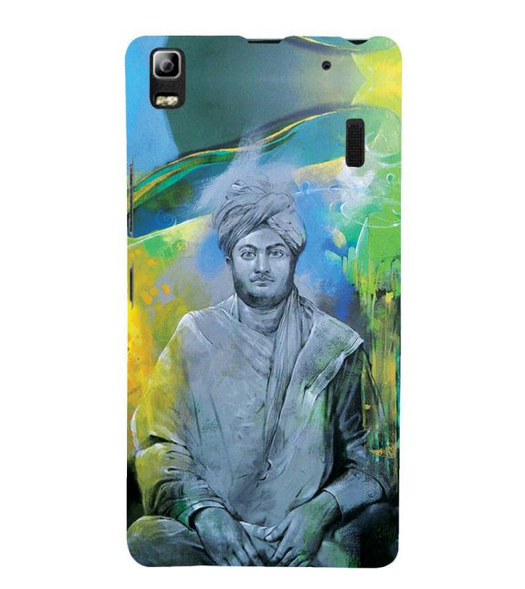 Swami Vivekananda Back Cover for Lenovo A7000 and K3 Note