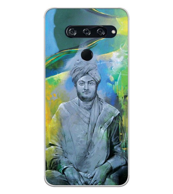 Swami Vivekananda Back Cover for LG V40 ThinQ