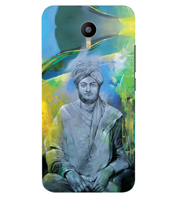Swami Vivekananda Back Cover for Meizu M2